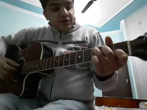 Aj jaane ki zid na karo | fingerstyle guitar tutorial
