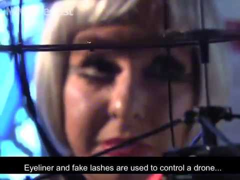 This Is NOT Science Fiction: A Woman Can Control Drones With Her Makeup