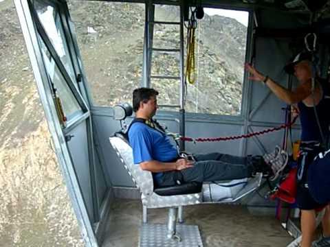 Fernando Nery no Nevis Bung Jumping - NZ