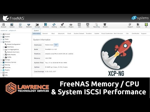 FreeNAS Performance Testing Using Our 16GB / Intel i5-4570 / 36TB