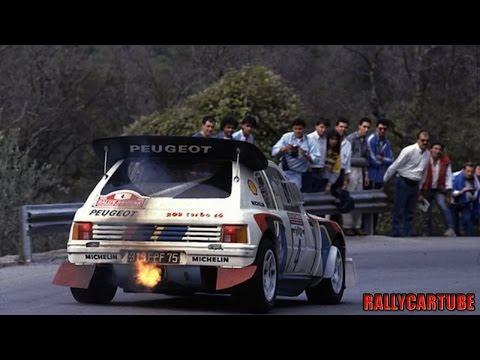 Peugeot 205 T16 Evo2 Gruppo B Pure Engine Sound