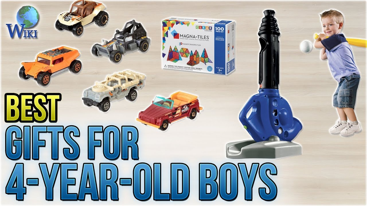 10 Best Gifts For 4 Year Old Boys 2018 Youtube