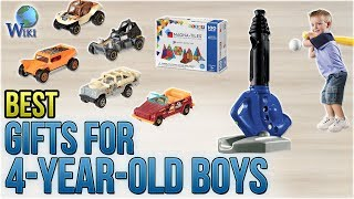 10 Best Gifts For 4-year-old Boys 2018