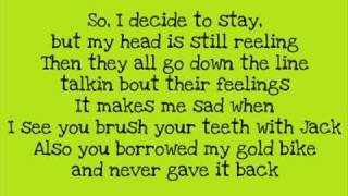 Kesha - Glitter Puke With Lyrics (Key Of Awesome)