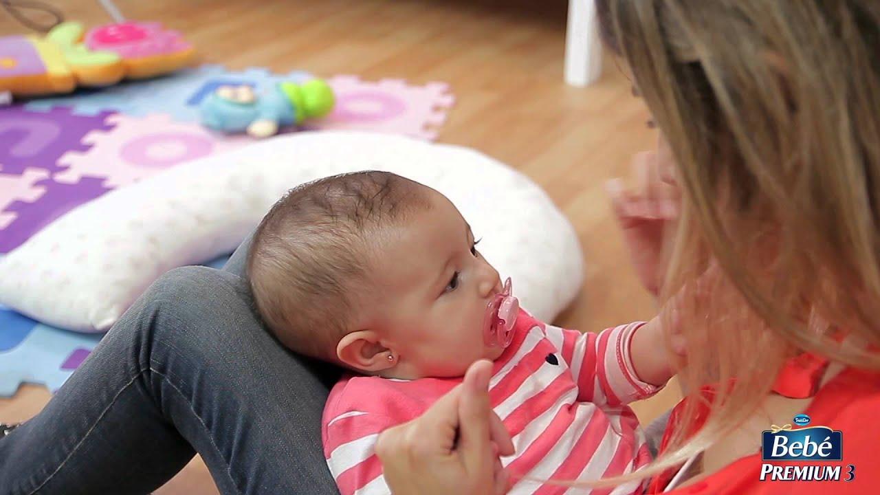 Juegos de estimulaci n para beb s de 0 a 6 meses tvcrecer youtube - Bebes de tres meses ...