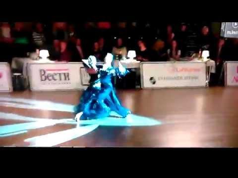 World Championschip Riga 2014 Junior II Standard Final Oliwia Drożdż Kacper Czajka