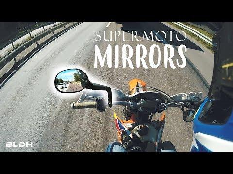 Supermoto LIFE HACK | Mirrors? | BLDH
