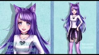 [SpeedPaint] Cadeau pour Zoey et Roblox (Paint Tool SAI)