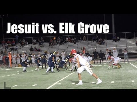 Jesuit Sacramento vs Elk Grove Thundering Herd, high school football 2017