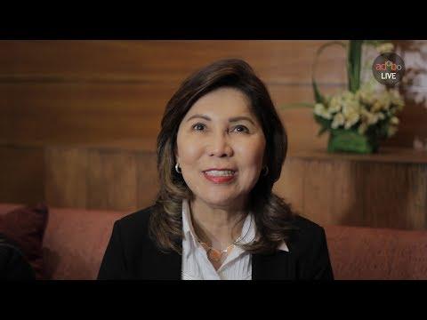 DOT Secretary Wanda Teo and Regional Director for the CAR Venus Tan speak at the 2017 Media Congress