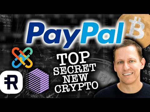 PAYPAL'S TOP SECRET NEW CRYPTOCURRENCY?