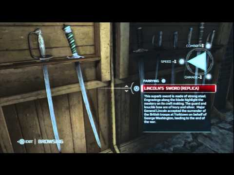 Assassin's Creed 3 Outfits and Armoury
