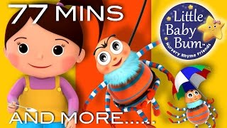 Little Miss Muffet | And More Nursery Rhymes | From LittleBabyBum