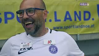 Trainer Hannes Spilka zum Sport Land NÖ Cupfinale