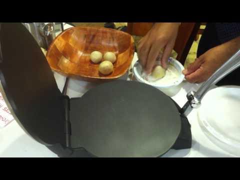 Chef Pro FBM 110 Tortilla Maker Demo Video Clip