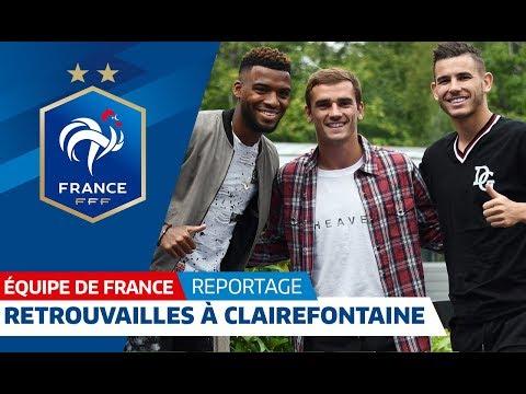 Equipe de France : Les Champions du Monde de retour à Clairefontaine I FFF 2018