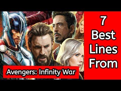 7 best lines from 'Avengers: Infinity War' trailer