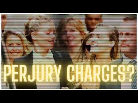 Johnny DEPP v Amber HEARD - Can Amber Get Charged With Perjury? (FAQ PART 1)