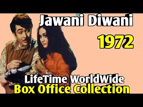 JAWANI DIWANI 1972 Bollywood Movie LifeTime WorldWide Box Office Collection Cast Rating