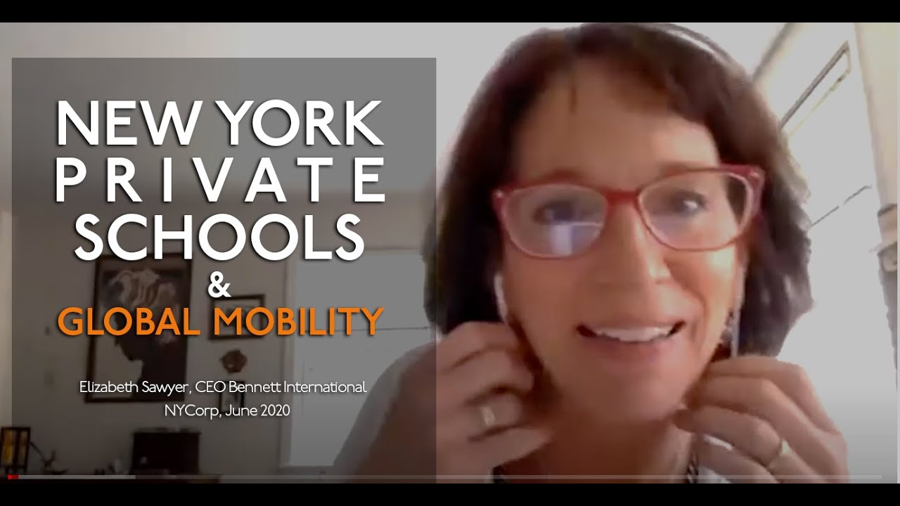 Latest on NY Private School Scene for Global Mobility, et al