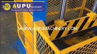 AUPU Machinery Waste Tire Cutting Machine