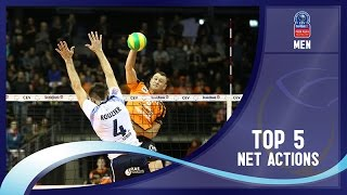 Stars in Motion Episode 1 - Top 5 Net Actions - 2016 CEV DenizBank Volleyball Champions League - Men