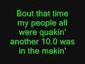 Family Force 5. Earthquake lyrics.