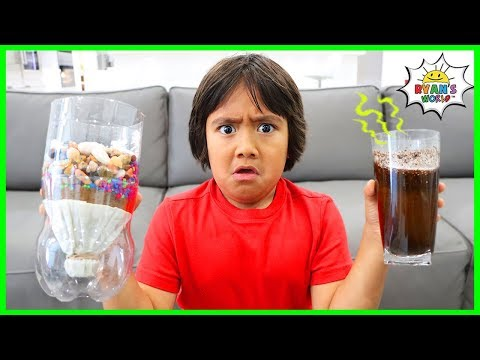 How to Filter Water DIY Science Experiments for Kids