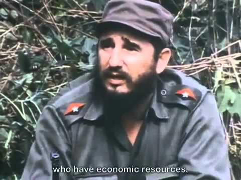 Fidel Castro Interview. Guerrilla Revolution