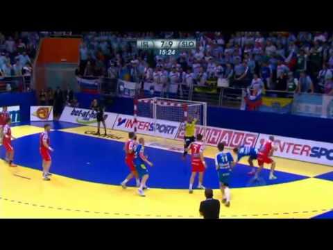EHF EURO 2012 - ISL v SLO 1st Half