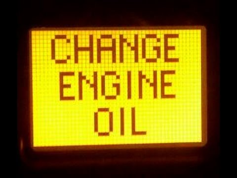 RESET OIL CHANGE WARNING LIGHT  Chevy cars & trucks OTHERS TOO