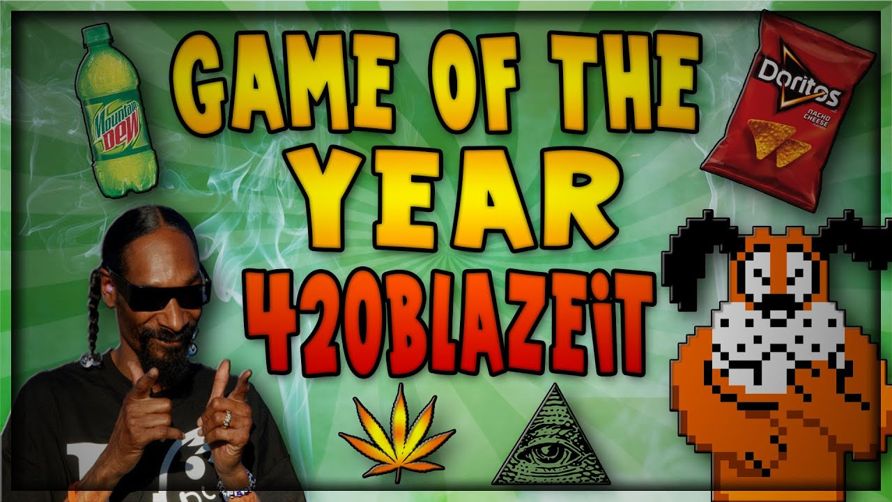 HRA ROKU 2014 | Game of the Year 420 BLAZE IT - YouTube