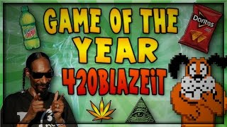 GAME OF THE YEAR 420 BLAZE IT - Best Free Game Ever!