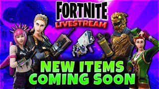 Fortnite Battle Royale Livestream! New Skins and Items Soon! 455 Total Wins PS4 PRO Guided_YouTube