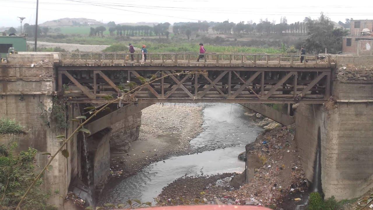 Resultado de imagen para puente del rio huaura