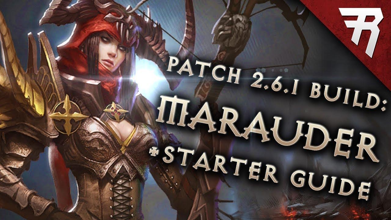 Diablo 3 2 6 5 Demon Hunter Build: Starter & Marauder GR118+ & Speed  (Guide, Season 17)