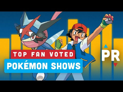 Top 5 Pokemon Show Seasons - Power Ranking