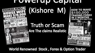 Kishore M Powerup Capital - EXPOSED AT Forex Preview by Public