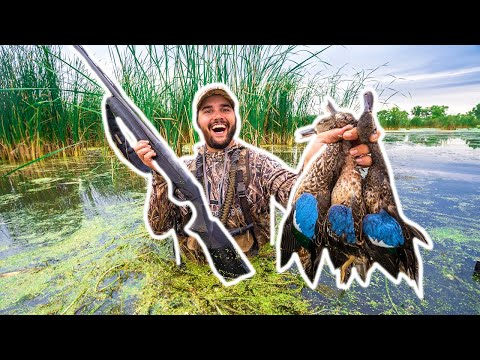 PUBLIC LAND Duck Hunting OPENING DAY – Limited Out!!! (CATCH CLEAN COOK)