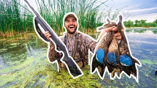 PUBLIC LAND Duck Hunting OPENING DAY - Limited Out!!! (CATCH CLEAN COOK)