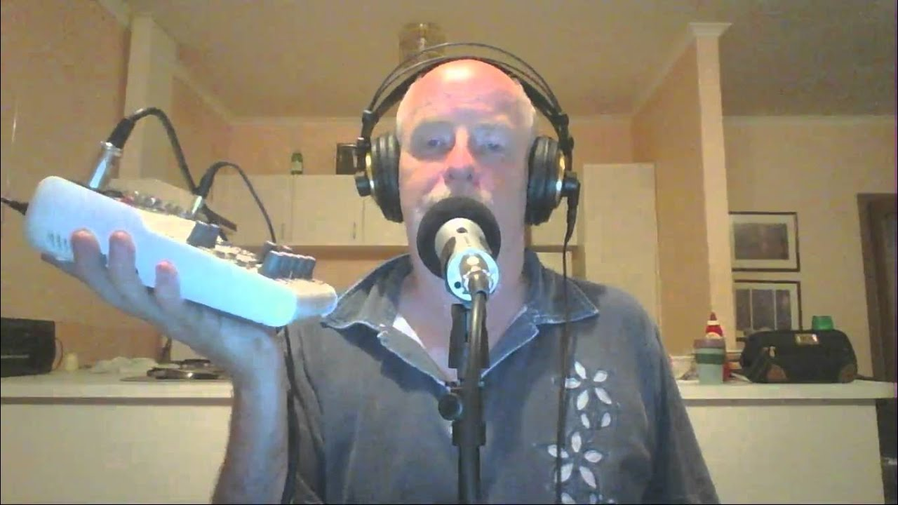 Late night video: My first thoughts on my Yamaha AG06 Audio Mixer