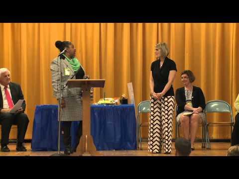 ExCEL Award - Aggie Adwell, Luhr Elementary School