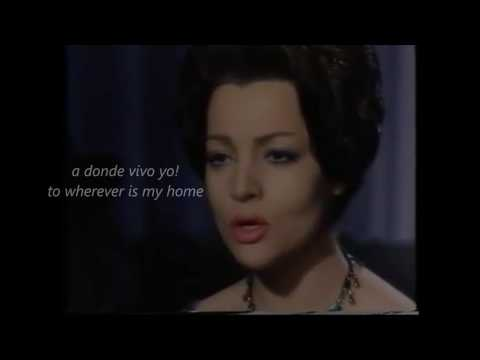The Dove - La Paloma - With Lyrics & English Translation