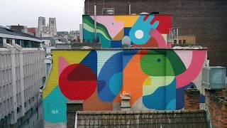 Gambar cover Oli-B - Mural painting - Brussels