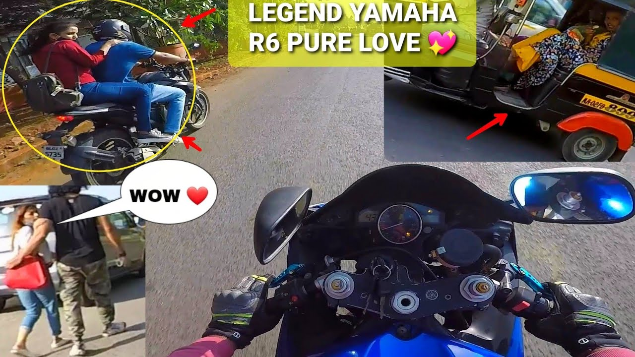 She loves My Superbike the Beast Yamaha R6|Rarest Superbike|Dream Completed|Must Watch|Z900 Rider