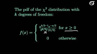 An Introduction to the Chi-Square Distribution