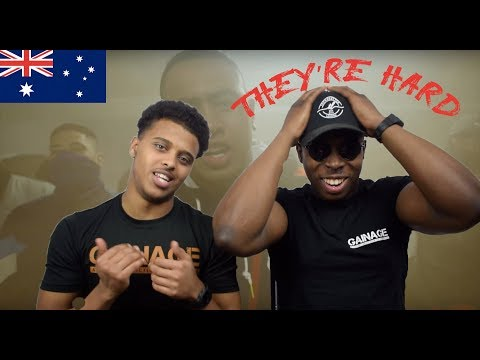 THE AUSSIES!🇳🇬 - The Message - ONEFOUR - REACTION
