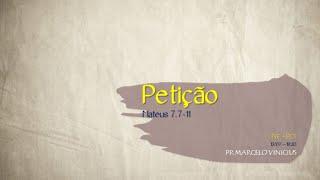LIVE - Pastor Marcelo Vinicius - 13/07/2020