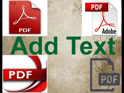 programs to add text to pdf