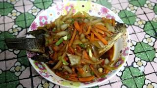 美食料理糖醋魚真好吃